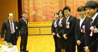 平成27年3月の卒業・入学を祝う会